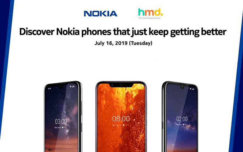 Nokia 8.1, 3.2, 2.2 arriving in the Philippines on July 16!