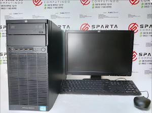 Obral Server UNBK HP ML110 G7 Xeon Ram 8gb Hdd 500gb Lcd 19 In Wide Murah