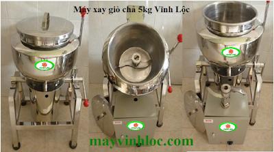 Bán máy xay giò chả 5kg giá rẻ nhất Việt Nam 02