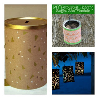 7 Ways To Reuse Coffee Cans