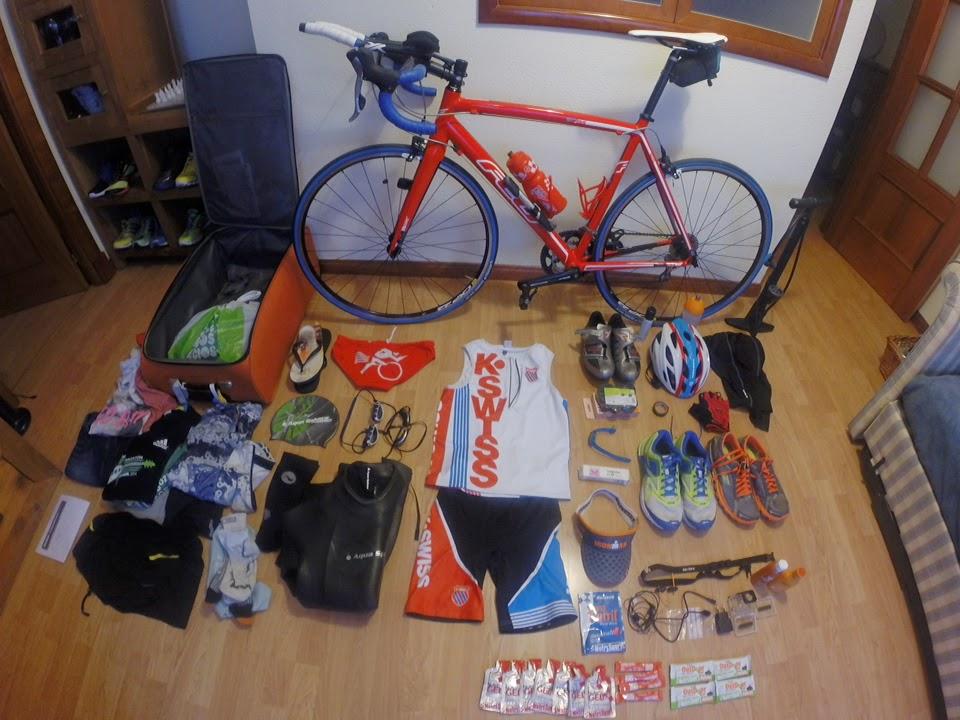 material para mi primer triatlon