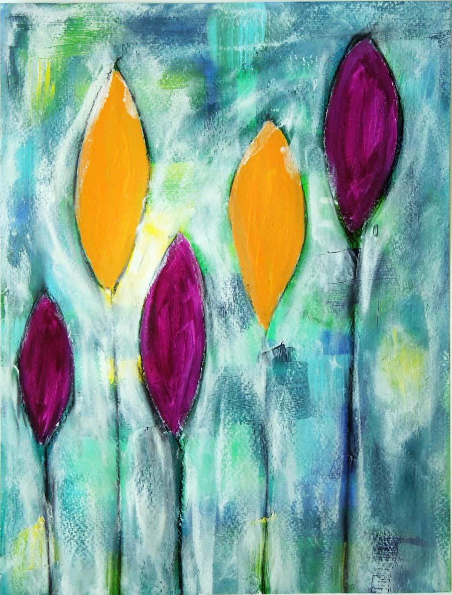 Inky Dinky Doodle: LifeBook Week 47: Intuitive Painting