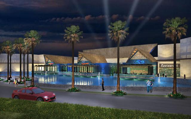 Blue Mall Punta Cana Nocturno