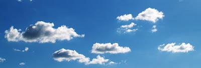 Kyslín, nebe, vzduch, mraky