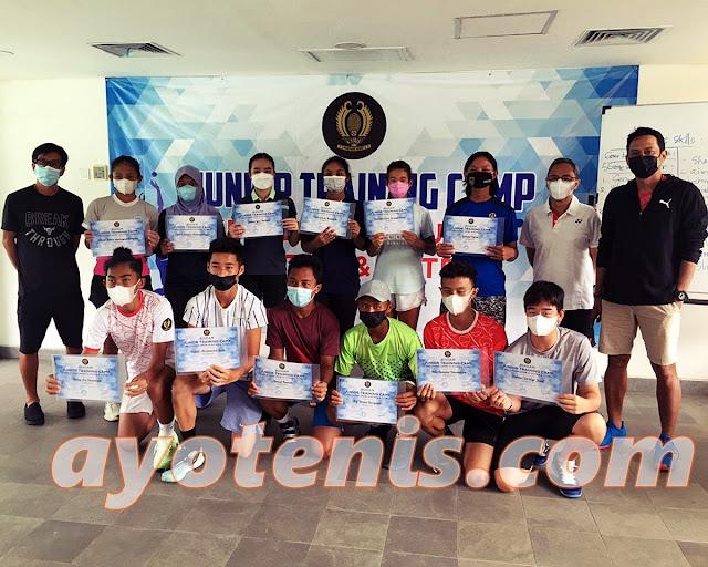 Feby Widhiyanto: Anak-Anak Kita Bekali Banyak Skill Selama TC Atlet Tenis Yunior PP PELTI