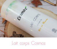 lait corps cosmoz