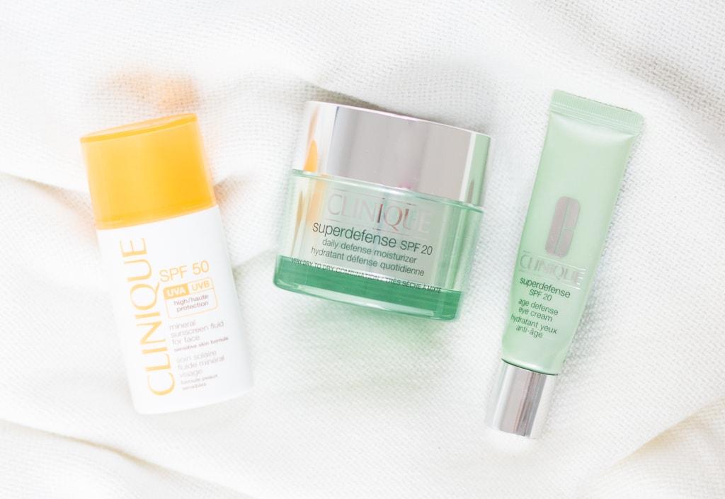Clinique SPF Sonnenschutz Produkte