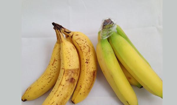 تخزين الموز الطازج أو الأخضر في المنزل
