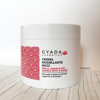 Gyada Cosmetics review verdebio crema modellante ricci