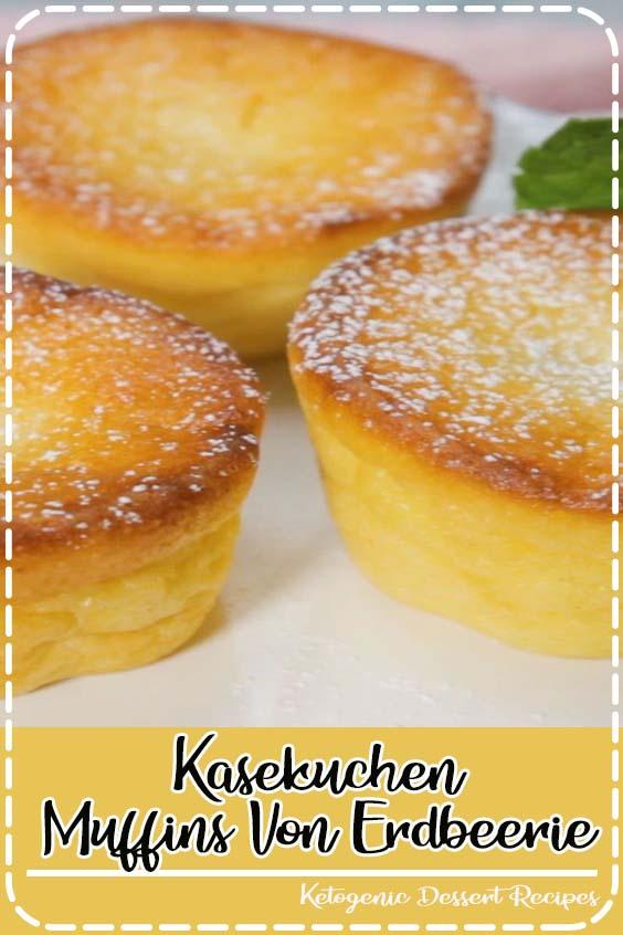 Kasekuchen Muffins Von Erdbeerie