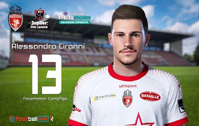 PES 2021 Faces Alessandro Ciranni by CongNgo