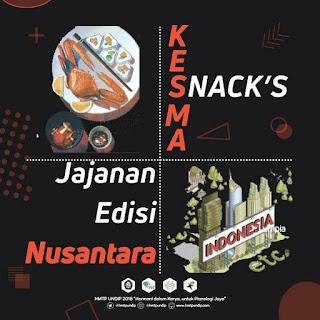 Kesma Snack: Jajanan Edisi Nusantara