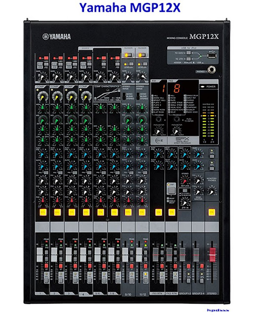 Harga Mixer Yamaha 6 Channel MGP12X