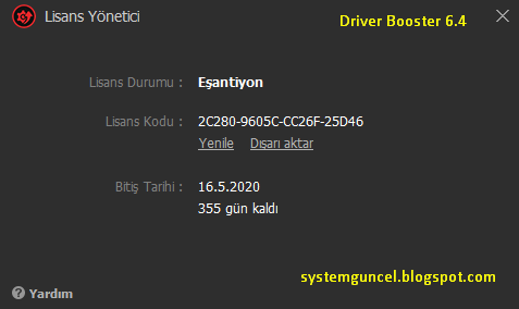 driver booster 4.5 key