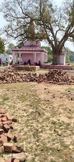 जौनपुर : मंदिर के पास खाली पड़ी जमीन पर कब्जा का आरोप, कार्रवाई की मांग