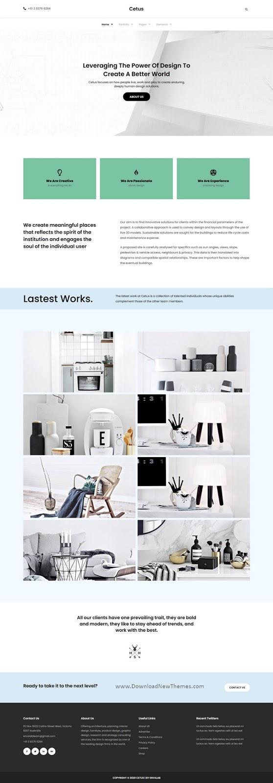 Creative Portfolio Elementor Template Kit