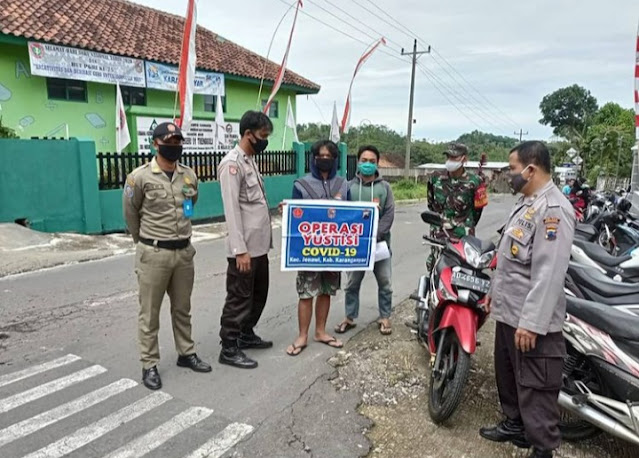 Tiga Pilar Aktif Operasi Yustisi Di Wilayah Binaan