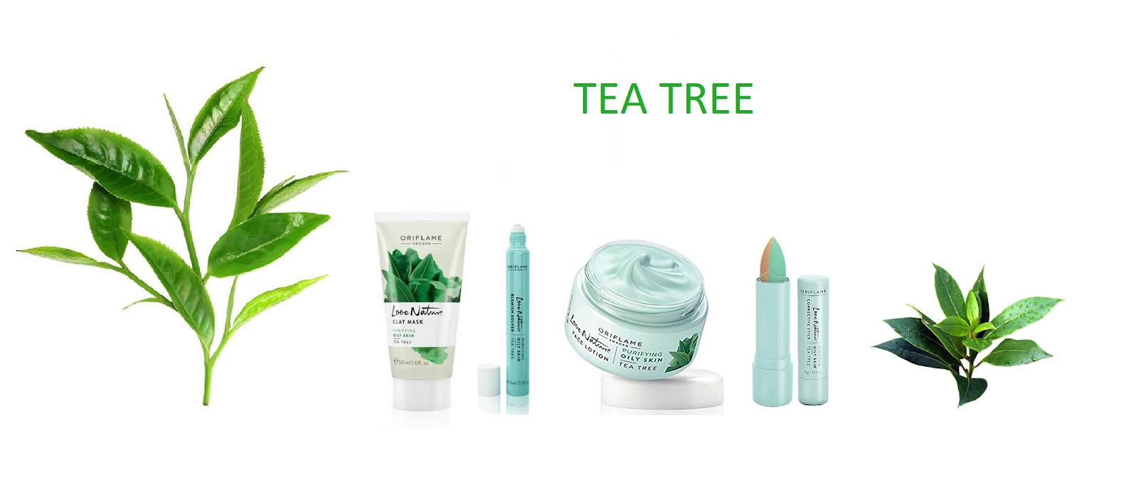 Oriflame love nature emulsja do twarzy z olejkiem z drzewa herbacianego