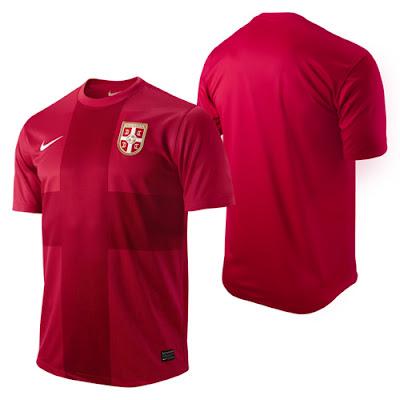 canalfútbol Blog: Nueva camiseta nike de Serbia 2012/13