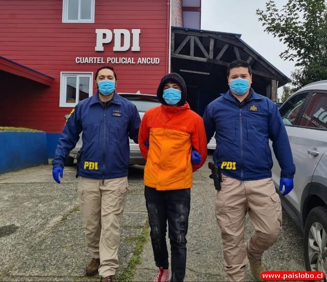 PDI detiene en Ancud a un hombre involucrado en robo con violencia