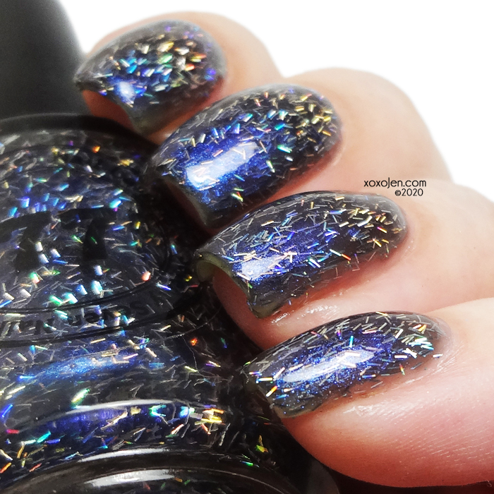 xoxoJen's swatch of 77 Lacquer Holo There, Cosmic Cruiser