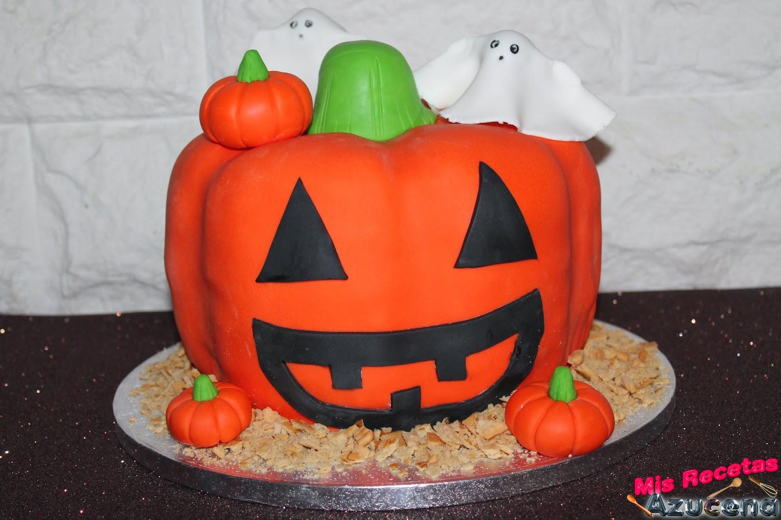 Tarta de halloween.
