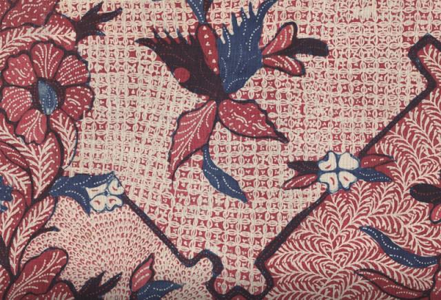 Pintura da Indonésia em tecido
