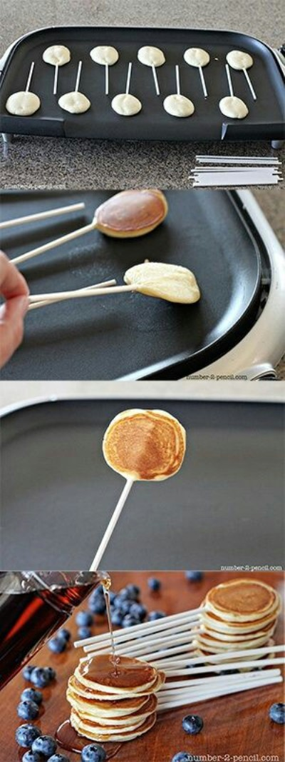 Pancake Pops. Foto: number-2-pencil.com