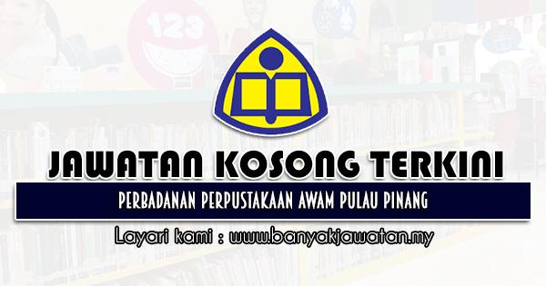 Jawatan Kosong 2021 di Perbadanan Perpustakaan Awam Pulau Pinang