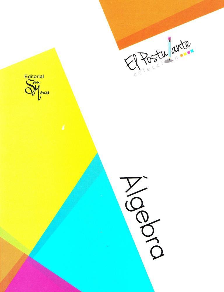 Álgebra – Colección el postulante
