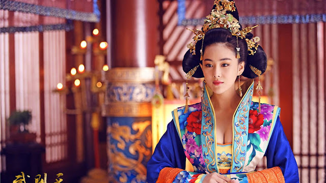 Chinese historical drama Empress of China starring Viann Zhang Xinyu