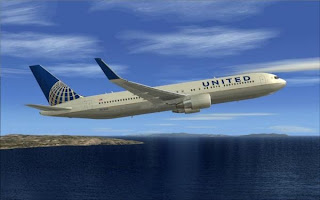 FS2004 REPAINTS: SKYSPIRIT2010 767-300ER United Airlines N674UA NC