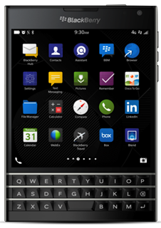 BlackBerry Passport picture