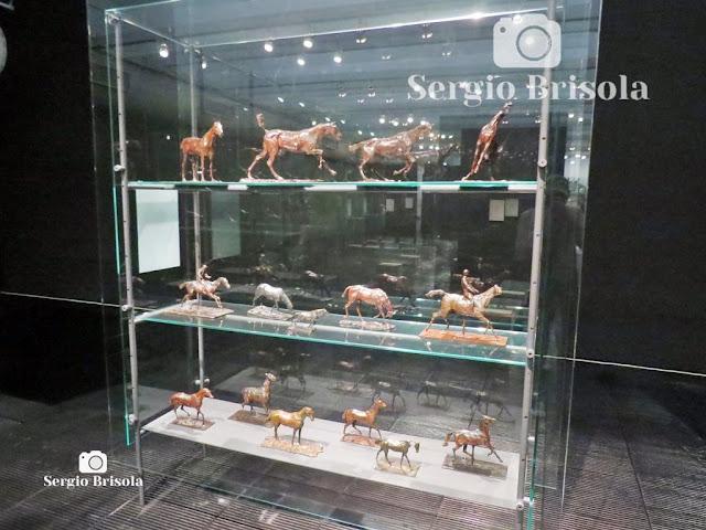 Esculturas Cavalos - Exposição Degas - MASP