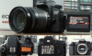 Jual Canon Eos 70D Wifi + TouchScreen 2nd