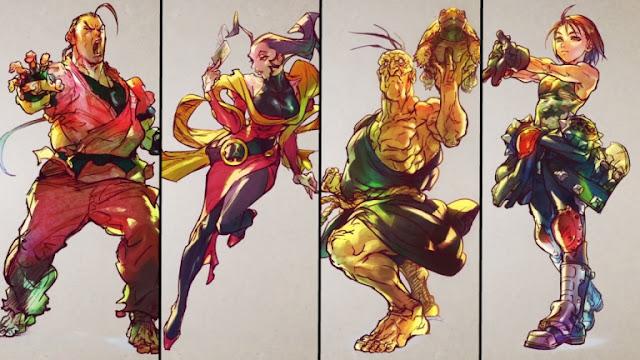 Novos personagens chegam em Street Fighter V
