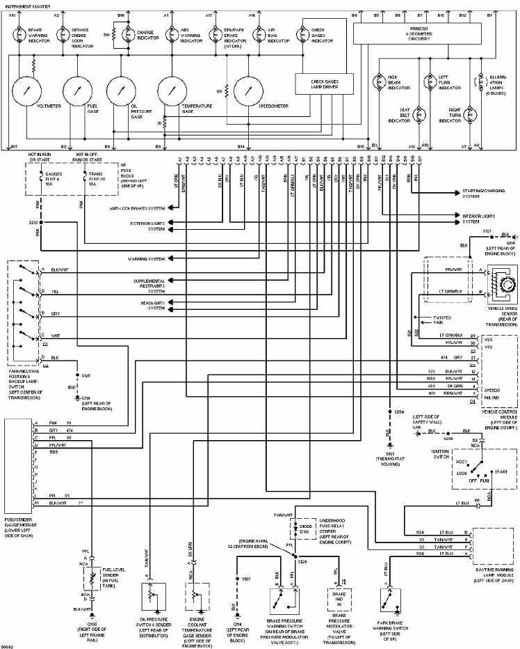2006 dodge fog light wiring diagram