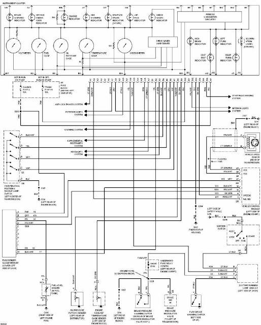 Silverado Instrument Cluster Wiring Diagram 2004 Chevy Silverado