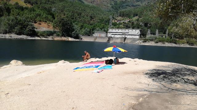Praia Fluvial Albufeira Geres