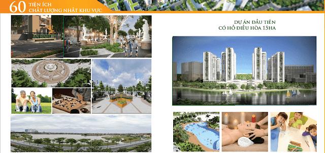 Hệ thống tiện ích cao cấp tại dự án chung cư An Bình City