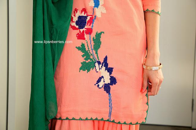 Punjabi Embroidery pattern