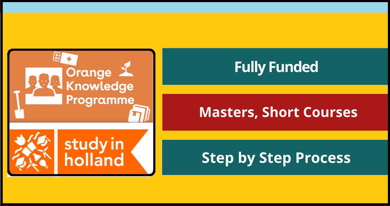برنامج Orange Knowledge 2022-2023 (عملية التقديم)