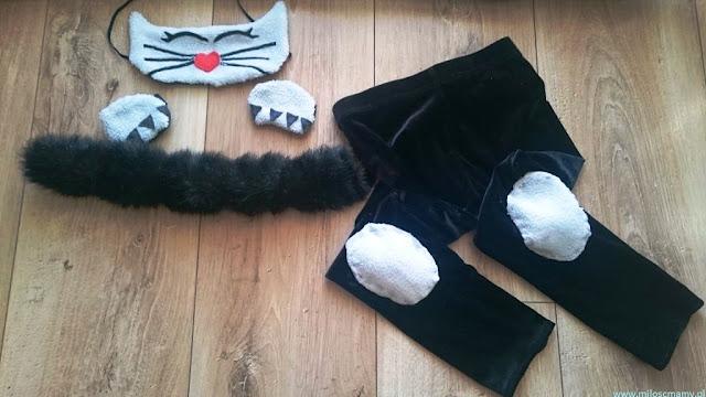 Strój  karnawałowy kot