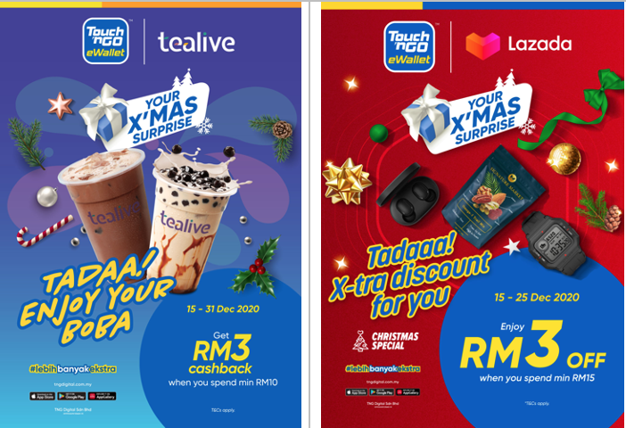 Touch 'n Go eWallet Rewards Malaysians with Year-End Surprises and More Good News