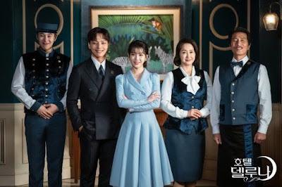Top 21 Drama Korea Terbaik 2019, Korean Drama, Drama Korea, Korean Drama 2019, Review By Miss Banu, Blog Miss Banu Story, Drama Korea Hotel Del Luna, Poster Drama Korea Hotel Del Luna,