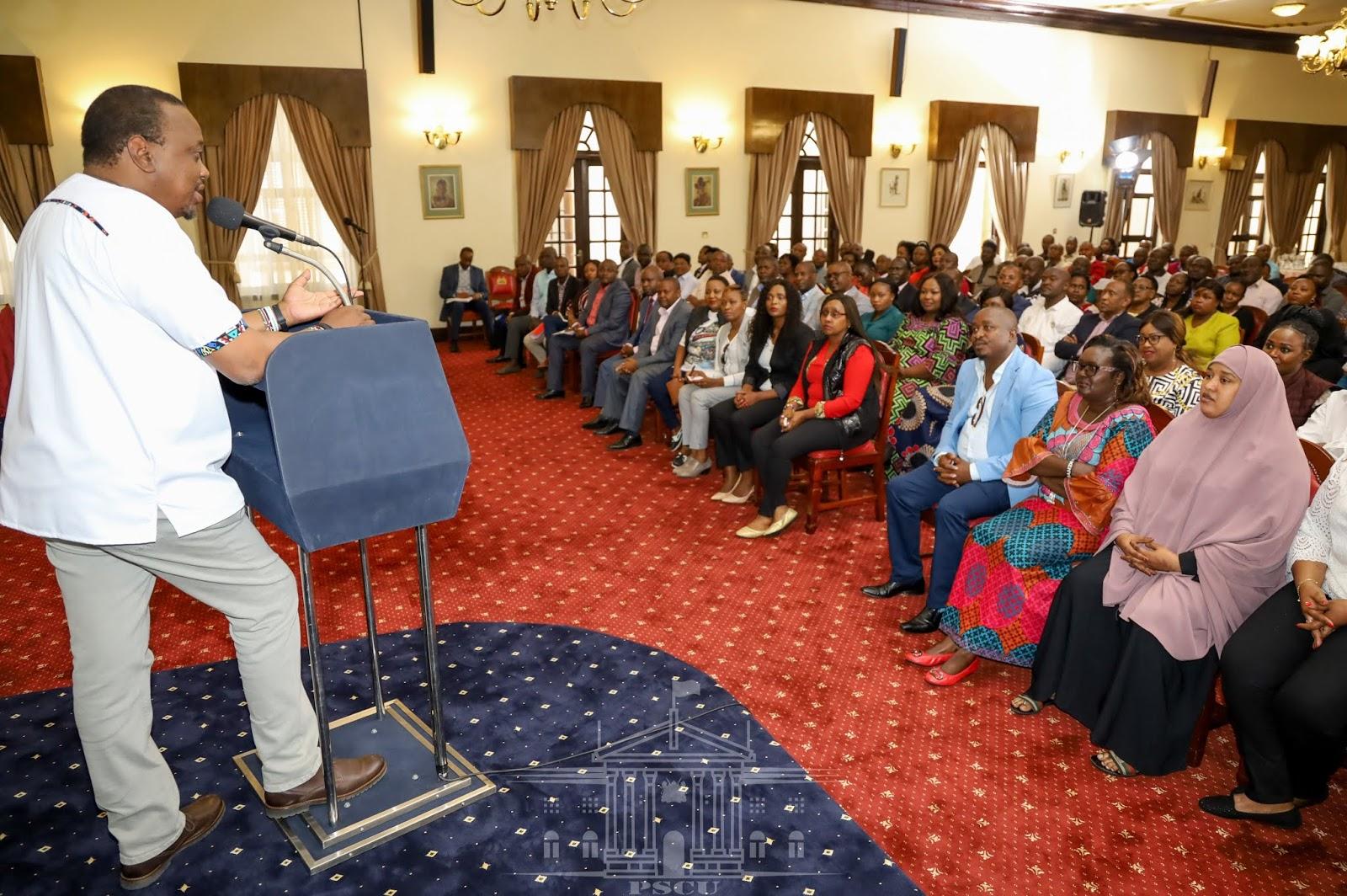 Uhuru Kenyatta Urges Nairobi MCAs To Spare Mike Sonko