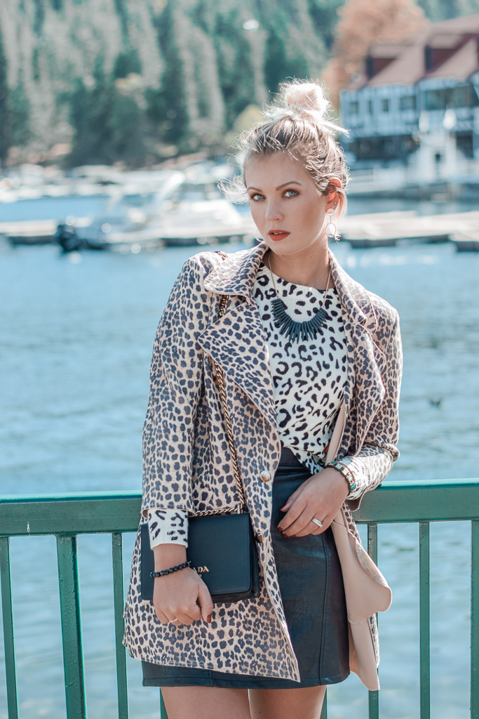how to combine leopard print