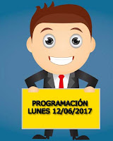 lo mejor de la programacion del lunes 12 de junio de 2017