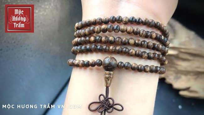 Vòng tay trầm hương Indo