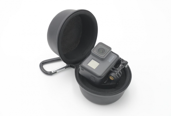 Чехол для стабилизатора Quark, одновременно предназначен для хранения камеры GoPro